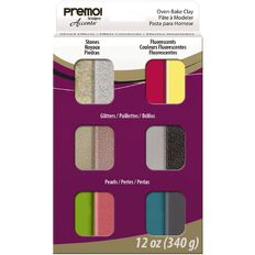 Sculpey Premo Accents 12 Pack Multi