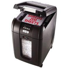 Rexel Shredder Stack & Shred Auto+200X