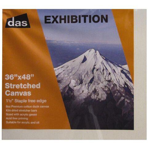 DAS 1.5 Exhibition Canvas 36 x 48in White