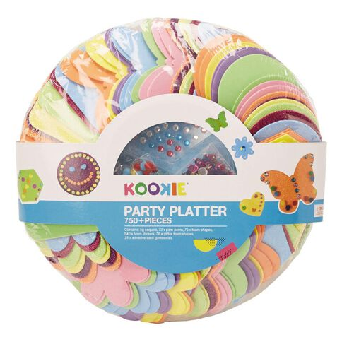 Kookie Craft Party Platter 750+ Pieces