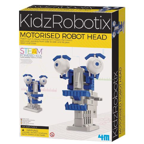 4M Motorised Robot Head Kidz Robotix