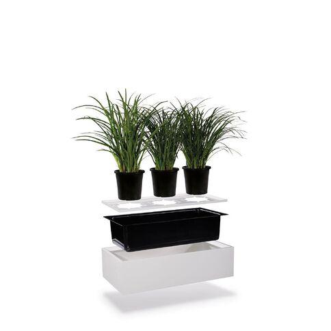 Precision Smartstore Planter White Satin White
