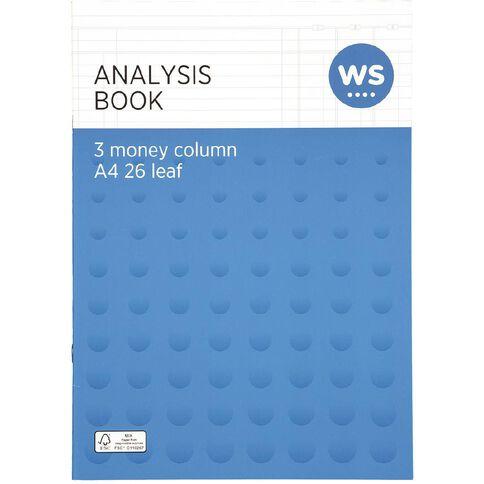 Impact Analysis Book 3 Column Green A4
