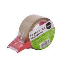 Impact Packaging Tape On Dispenser 48mm x 50m Tan