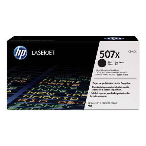 HP 507Y Black Contract LaserJet Toner Cartridge (11700 Pages)
