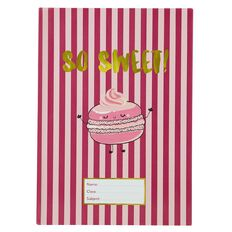 Kookie Sweets Book Sleeve Pink A4