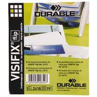 Durable Visifix Business Card File Refills 40 Pack