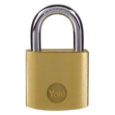 Yale Brass Padlock 31.5mm