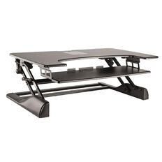 Brateck Height Adjustable Desk Black