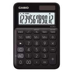 Casio MS20UCBK Desktop 12 Digit Calculator Black