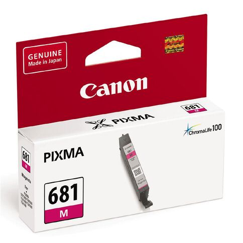Canon CLI-681 Ink Magenta (250 Pages)