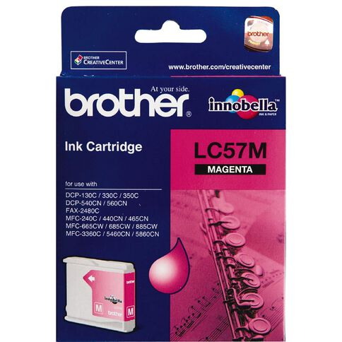 Brother Ink LC57 Magenta (400 Pages)