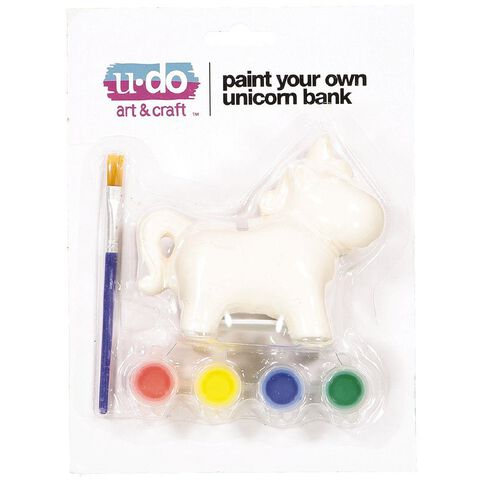 U-Do Paint Your Own Unicorn Bank