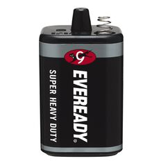 Eveready Super Heavy Duty Lantern Battery 6 Volt