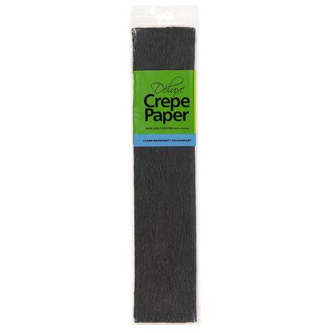Meteor Crepe Paper Black