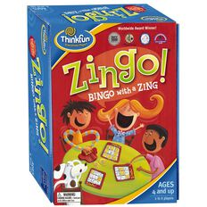 Thinkfun Zingo! Bingo with a Zing Game