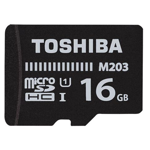 Toshiba 16GB Micro SD Card With Adapter