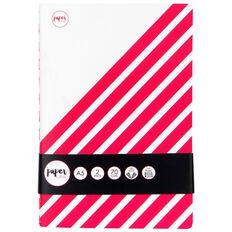Paper Lane Journal 2 Pack 60 Leaves Magenta A5