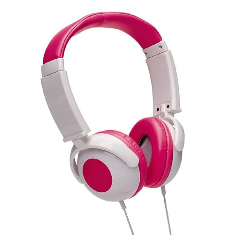 Tech.Inc Kids' Volume Limited Headphones Pink