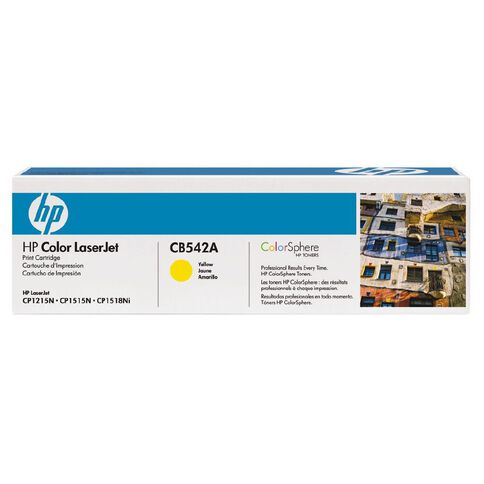 HP Toner 125A Yellow (1400 Pages)