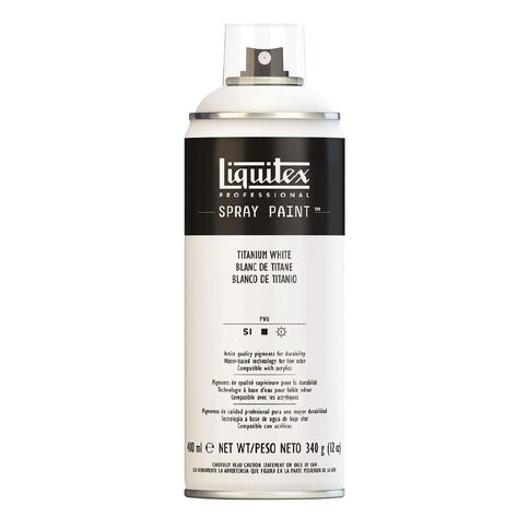 Liquitex Spray 400ml Titatnium White White