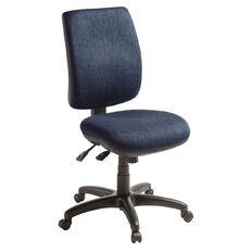 Eden Sport 3 Lever Highback Ergonomic Chair Navy