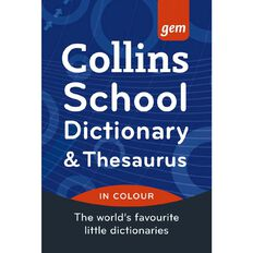 Collins Pocket English Dictionary & Thesaurus