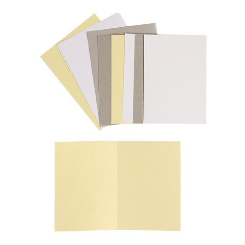 Uniti Cards & Envelopes Ivory 6 Pack