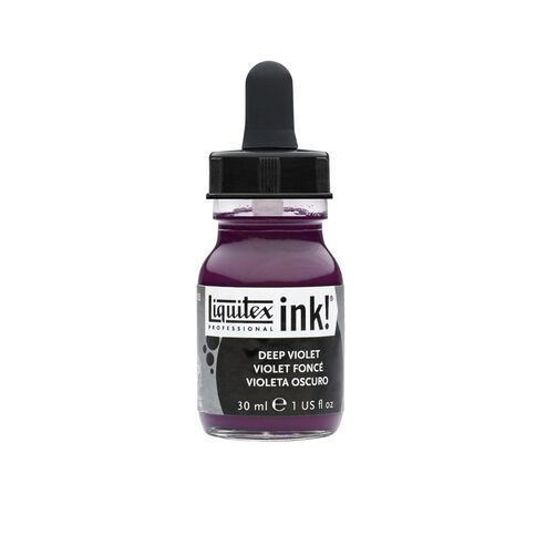 Liquitex Ink 30ml Deep Violet