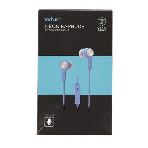 Tech.Inc Earbuds Neon Blue