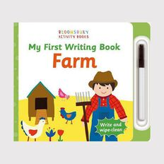 My First Writing Book: Farm Wipe Clean