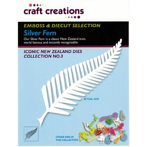 Craft Creations Iconic New Zealand Dies Collection Assorted