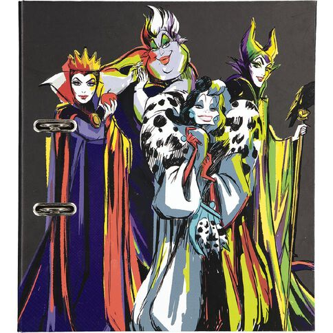 Disney Villains Lever Arch A4