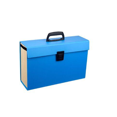 WS Concertina File 19 Pocket Blue