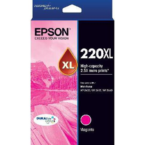 Epson Ink 220XL Magenta (450 Pages)