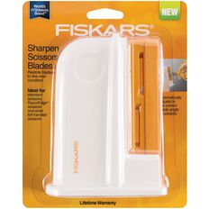 Fiskars Universal Scissors Sharpener White