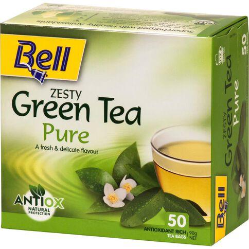Bell Green Tea Pure Tea Bags 50 Pack