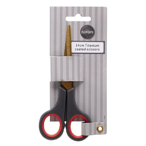 Rosie's Studio Craft Scissors Titanium Coated 14cm