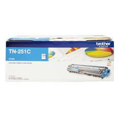 Brother Toner TN251 Cyan (1400 Pages)