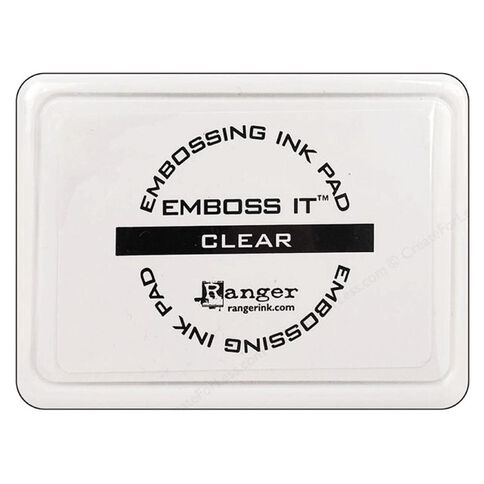 Ranger Stamp Pad Embossing Black