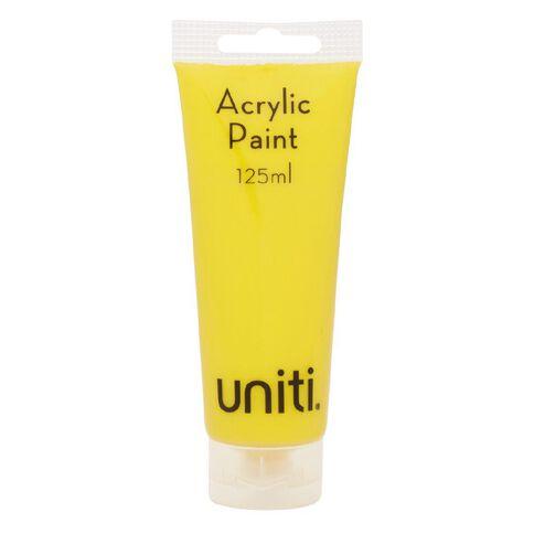 Uniti Acrylic Tube Yellow 125ml