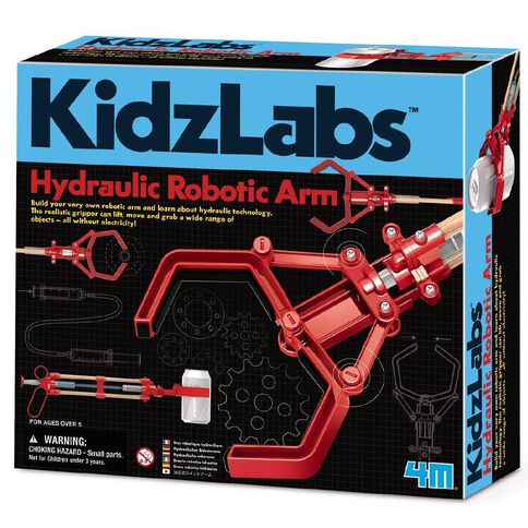 4M Hydraulic Robotic Arm XL Kidz Labs