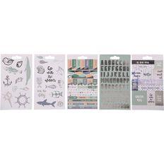 Uniti Under The Sea Sticker Book