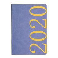 Dats Diary 2020 Day To Page Fashion PU Cover Assorted A4