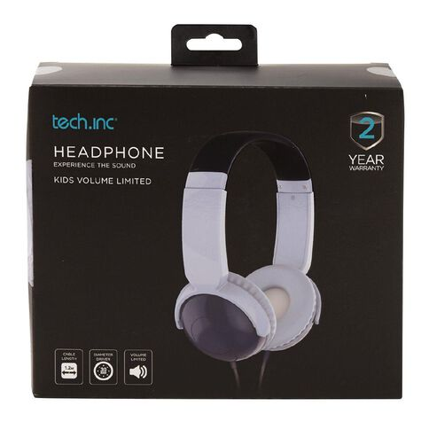 Tech.Inc Dome Kids' Volume Limited Headphones Blue