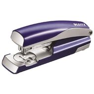 Leitz Metal Half Strip Stapler 30 Sheet Blue