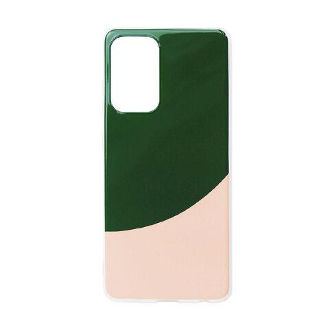 Samsung A52 Phone Case Pink/Green