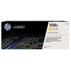 HP 508X Yellow Contract LaserJet Toner Cartridge (9500 Pages)