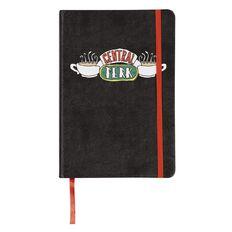 Warner Bros. Friends PU Notebook Central Park Black A5