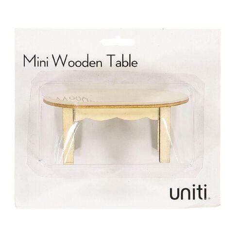 Uniti DIY Wood Mini Table